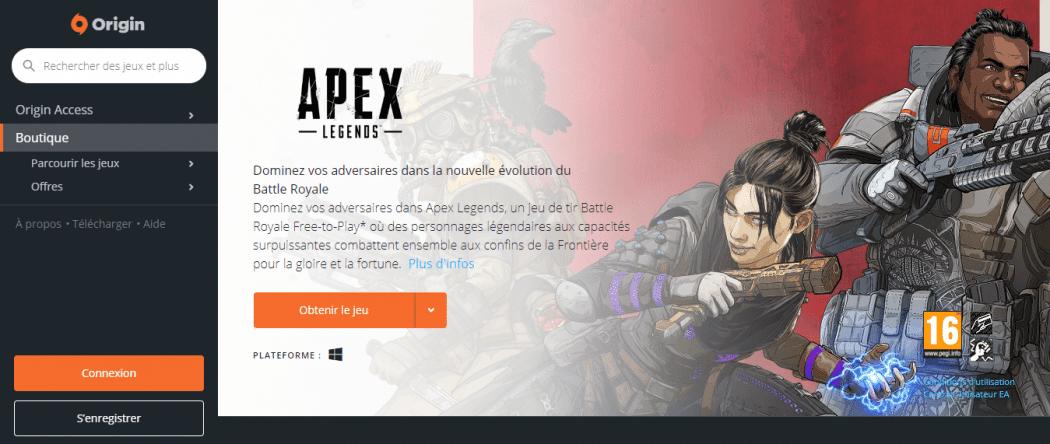 Apex Legends Pour PC