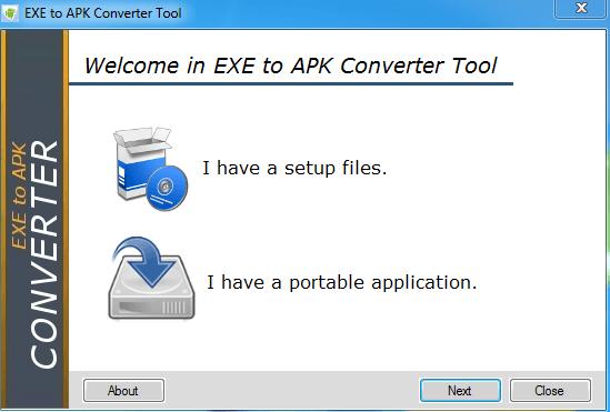 EXE en APK