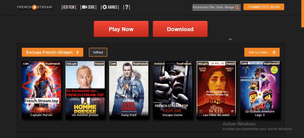 Sites de Streaming Films