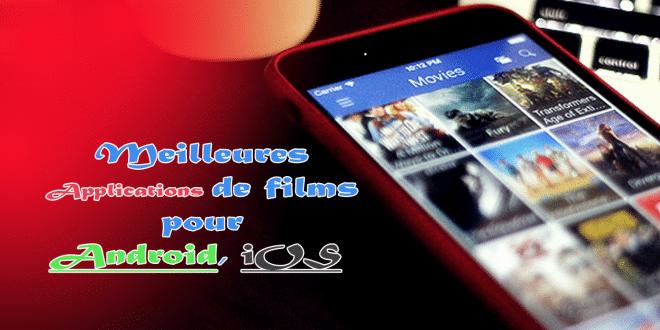 Meilleures applications de films