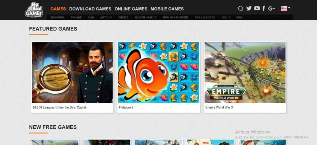 sites de téléchargement des jeux PC