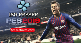 PES 19 ISO PPSSPP Pour Android