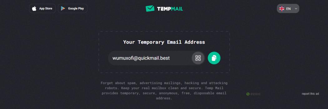 sites des Email temporaire