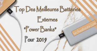 Batterie Externe : Meilleures Batteries Power bank en 2019