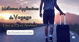 Meilleures applications de voyage pour iOS et Android
