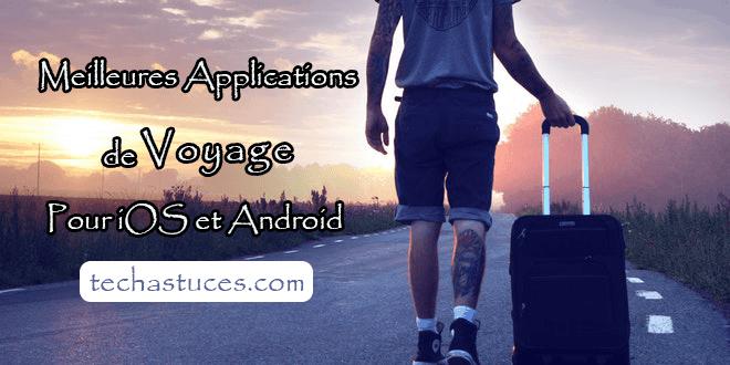Applications de Voyage