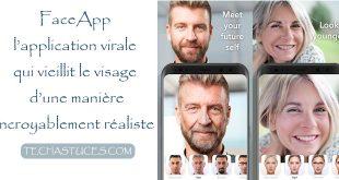 FaceApp : Télécharger et utiliser l'application qui vieillit le visage