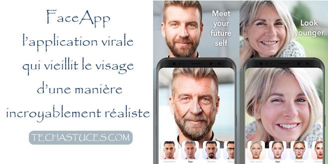 FACEAPP l'application qui vieillit le visage