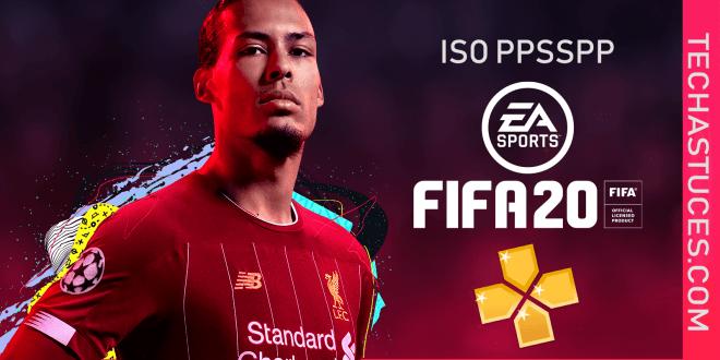 Télécharger et installer Fifa 2020 ISO PPSSPP Hors ligne | PS4 Camera