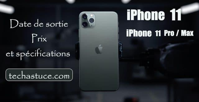 iPhone 11 et 11 Pro : découvrez les nouveautés des smartphones Appel