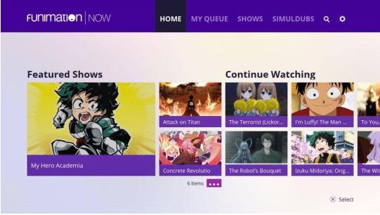sites de streaming anime