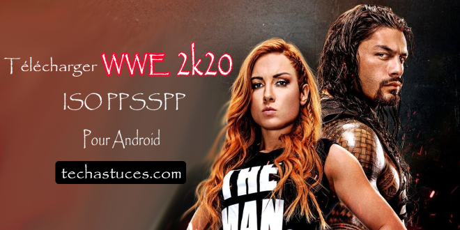 WWE 2K20 ISO PPSSPP