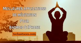 Meilleures applications de méditation de 2021