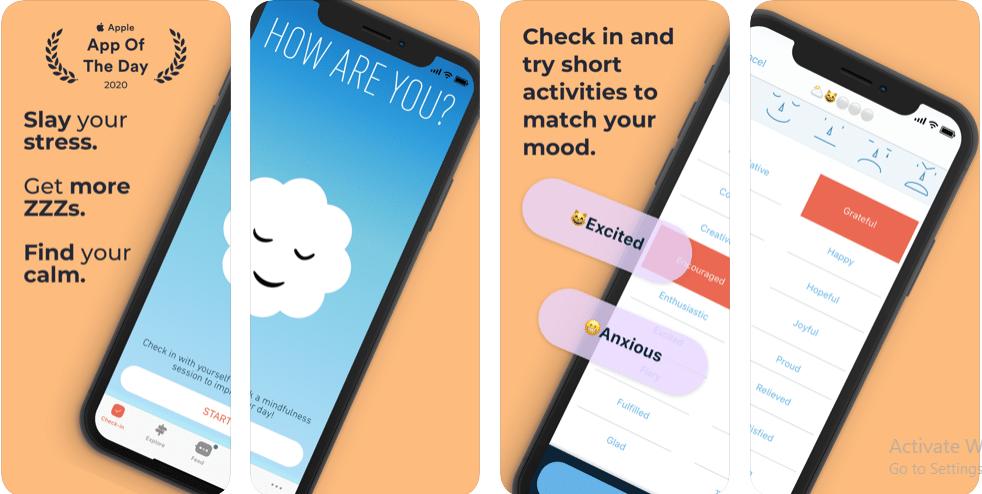 applications de méditation